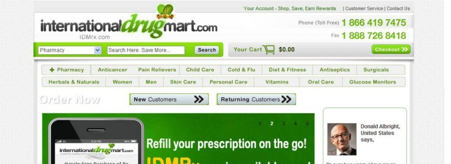 Internationaldrugmart.com Review