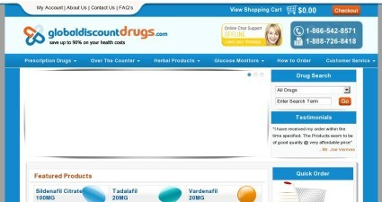 Globaldiscountdrugs.com Review