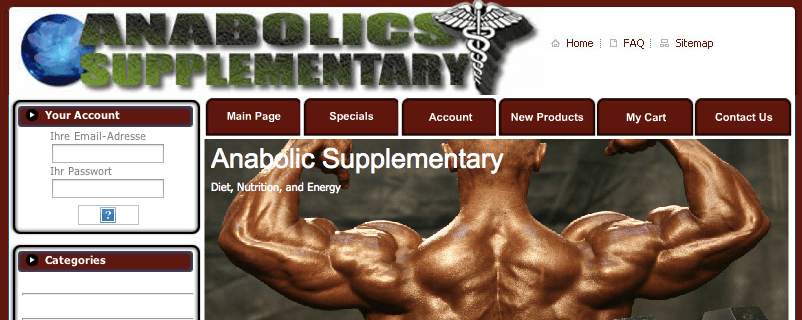 anabolics supplementary review