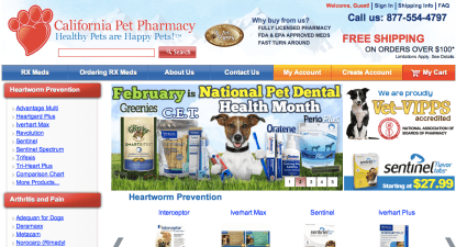 californiapetpharmacy.com review
