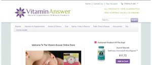 Vitaminanswer.Com Review
