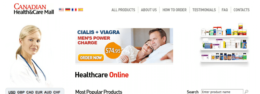 Health risks with viagra