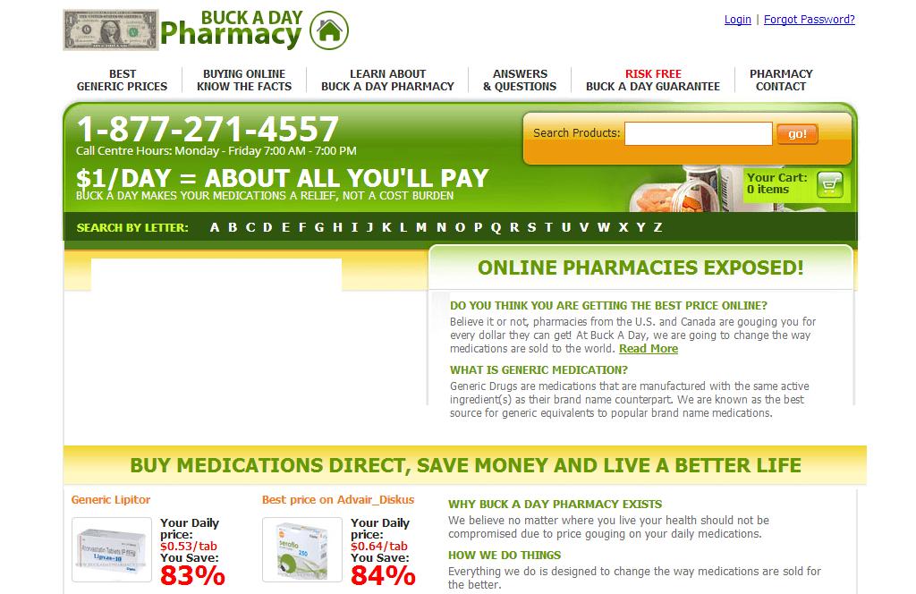 Buckadaypharmacy.com