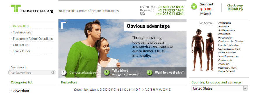 Trusted online pharmacy cialis