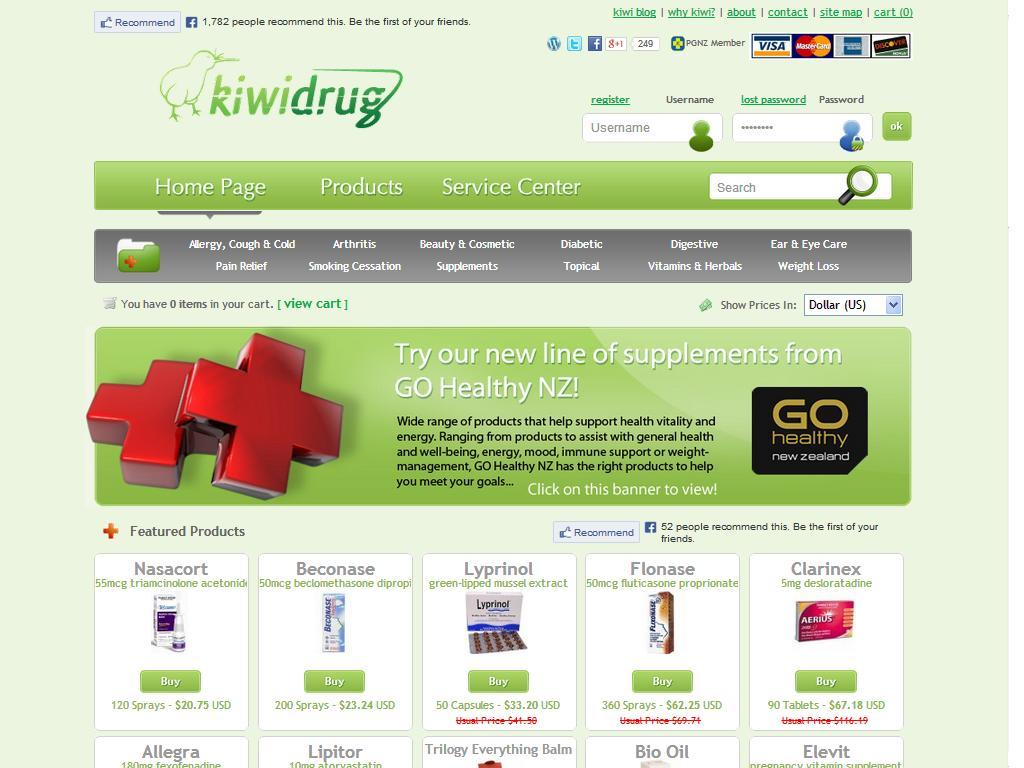 Kiwidrug.com Review