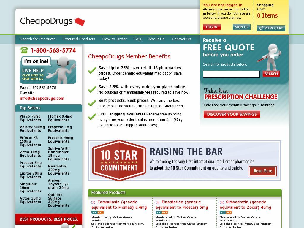 the online drugstore