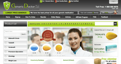 Genericdoctor.com reviews