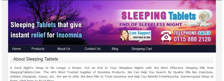 Sleepingtablets.com Review