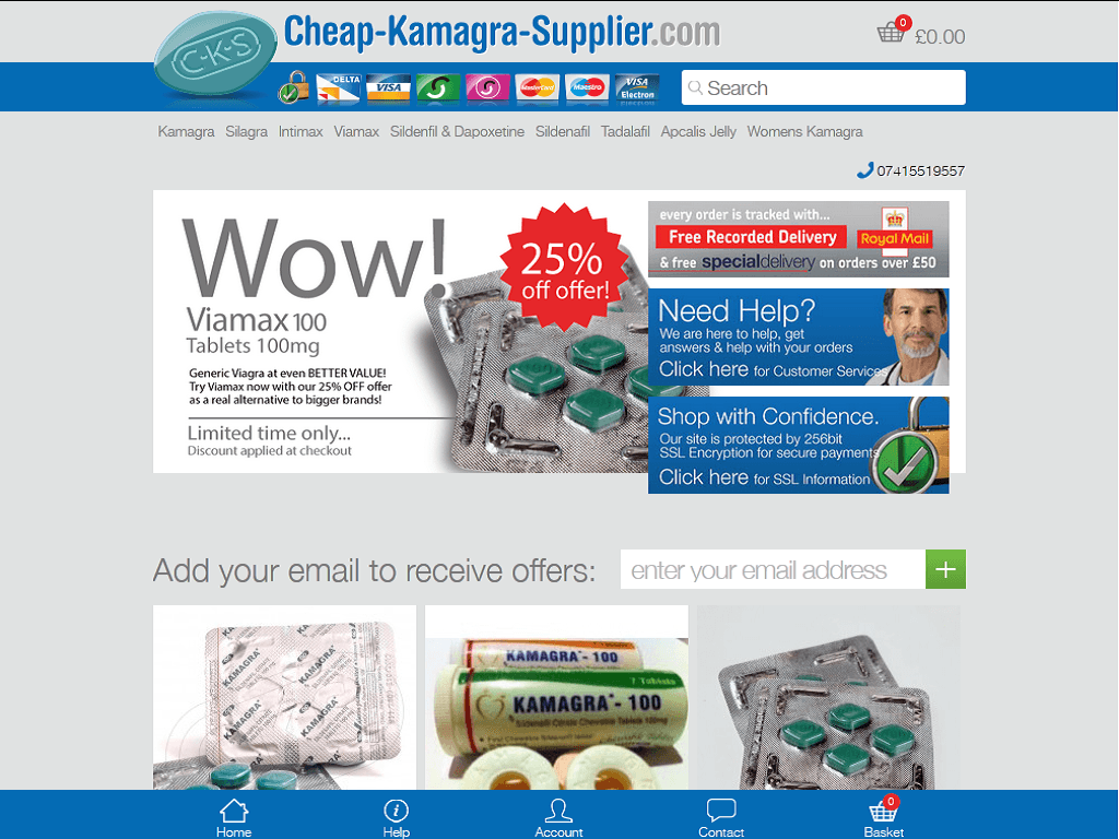 Kamagra online review