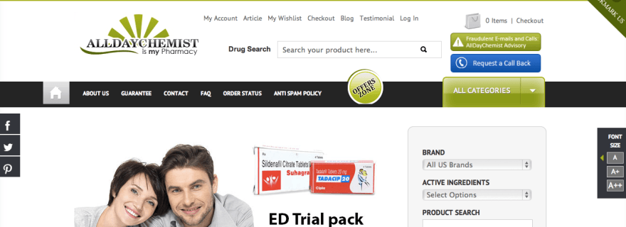 alldaychemist.com reviews