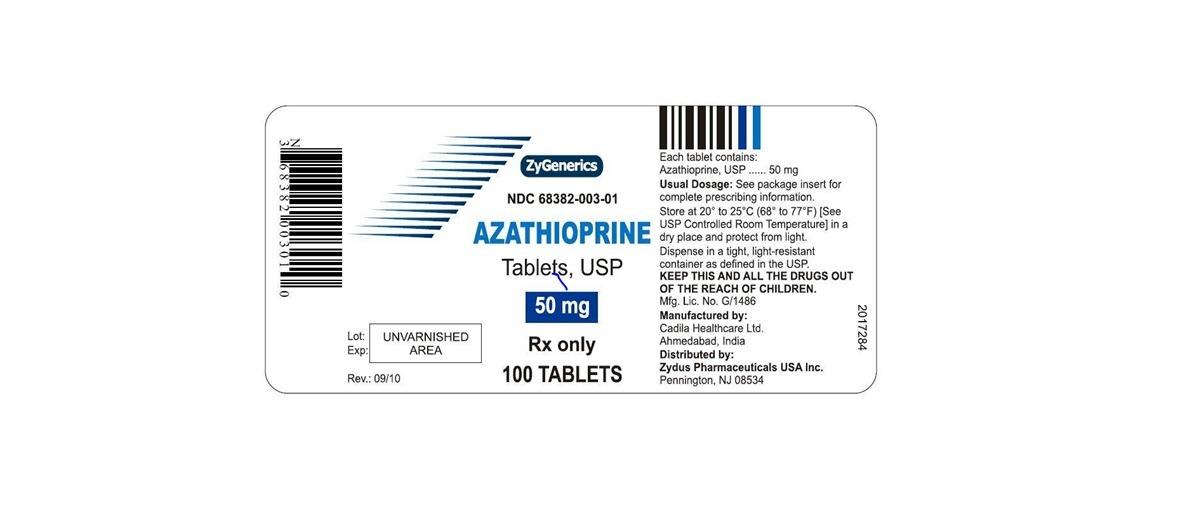 Azathioprine 50 Mg Tablets Side Effects