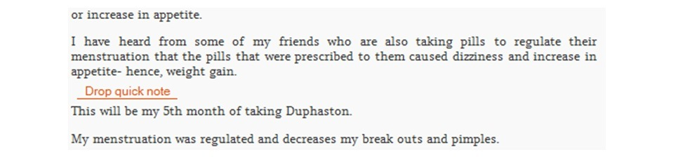 Duphaston 10 mg dose