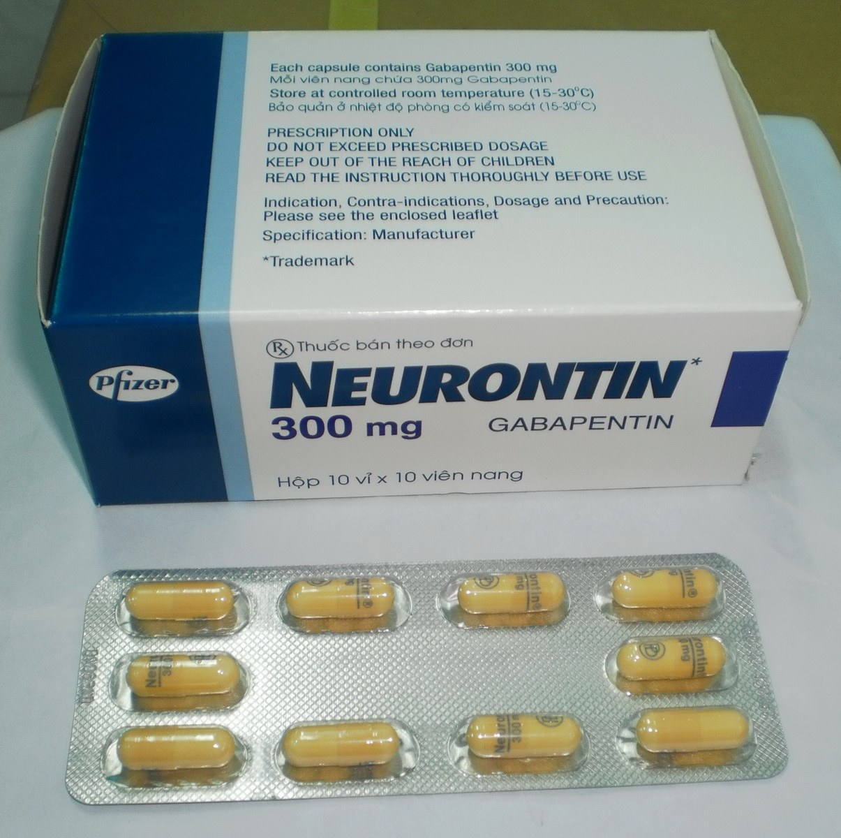 neurontin drug card