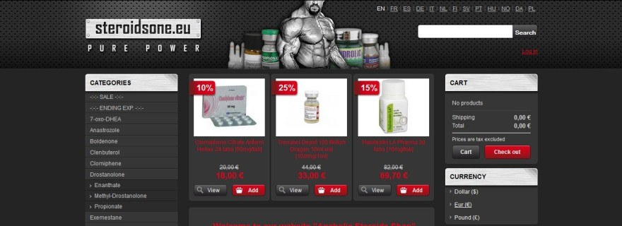 Steroidsone Reviews: Online Steroid Shop that is Risky - RxStars