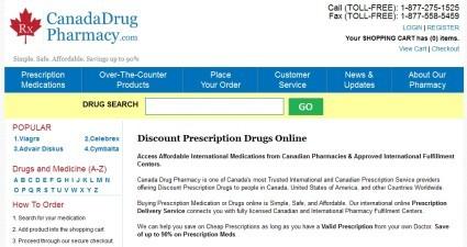 Canadadrugpharmacy.com Review