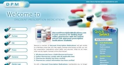 Discountprescriptionmedications.com Review