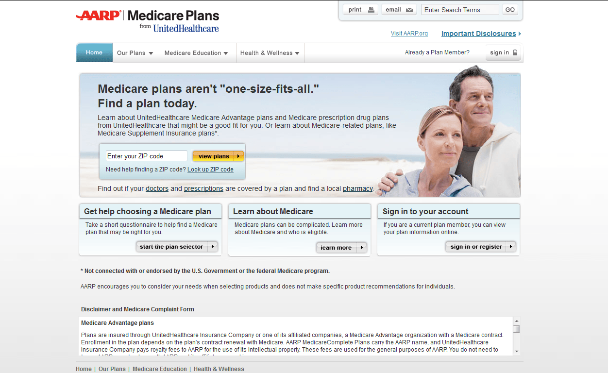 Aarp Medicare Plans Reviews - Insurance Plan with Access ...