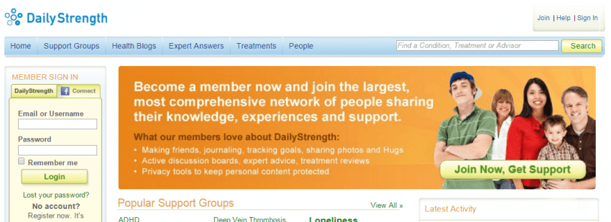 Dailystrength Reviews – A Social Platform to Discuss and Seek ...