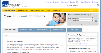 Wellpartnerpharmacy.com Review